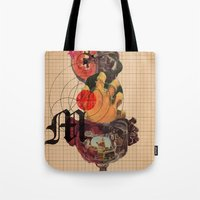 Murder Mind Tote Bag