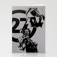 27 club Stationery Cards