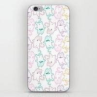 Kitty Cats iPhone & iPod Skin
