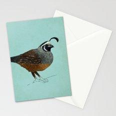 Quail Stationery Cards