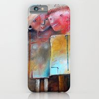 iPhone & iPod Case featuring Casual Acquaintance by Monica Blatton