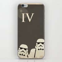 Star Wars Minimal Movie Poster iPhone & iPod Skin