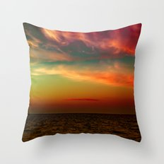 Looking Through Thoughts Throw Pillow