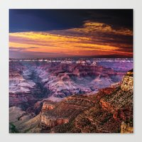 Grand Canyon, Arizona Canvas Print