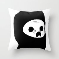 Stealth Zombie  Throw Pillow