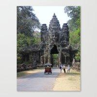 Angkor What? Canvas Print