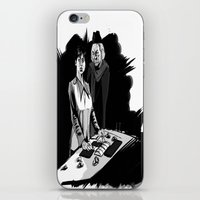 1rst Doctor & Susan... iPhone & iPod Skin
