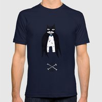 Be Brave Mens Fitted Tee Navy SMALL