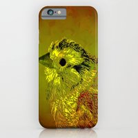 iPhone & iPod Case featuring Amber Bird by World Raven