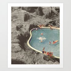 is this the place that they call paradise? Art Print