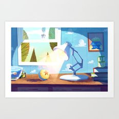 Pixar Art Print