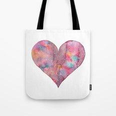 Cosmic Heart Tote Bag