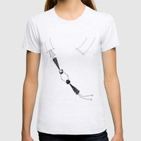 Trapeze Womens Fitted Tee Ash Grey SMALL