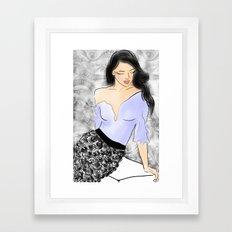 Sweet Lavender Framed Art Print