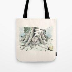 'A Visitor' (Colour) Tote Bag