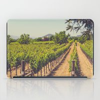 Vineyards 3 iPad Case