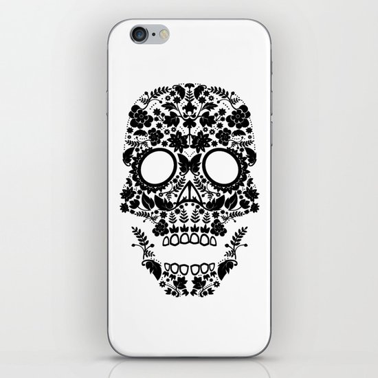 Day of the Dead Skull No.12 iPhone & iPod Skin