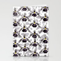 Orchid Pattern II Stationery Cards