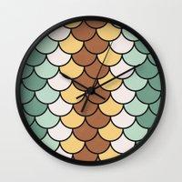 Flapjacks Wall Clock