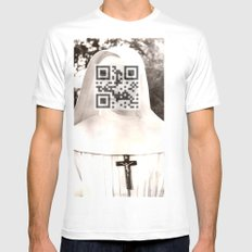 Audrey Hepburn (The Nun's Story) Mens Fitted Tee SMALL White