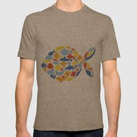 fish of fishes Mens Fitted Tee Tri-Coffee SMALL