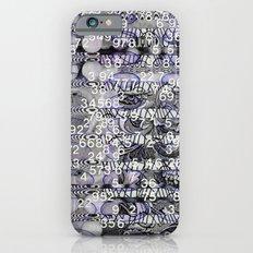 Post-Digital Tendencies Emerge (P/D3 Glitch Collage Studies) Slim Case iPhone 6s