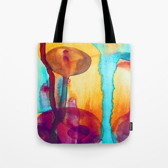 Watercolor - 8 Tote Bag