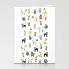 Cats in sweaters Stationery Cards
