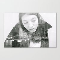 double exposer  Canvas Print