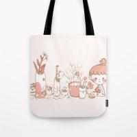 Little Garden Tote Bag