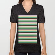 Unisex V-Neck featuring STRIPES by SimpleChic