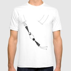 Trapeze Mens Fitted Tee SMALL White