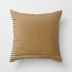 Cardboard Paper Throw Pillow