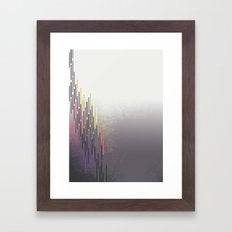 glitch Framed Art Print