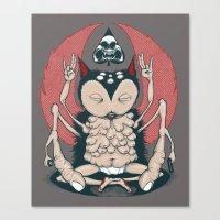 Owl Balls Canvas Print