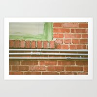 Station House, Subdued Art Print