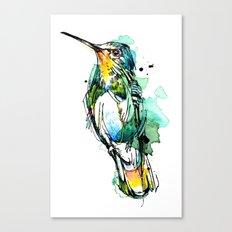 Emerald Hummer Canvas Print