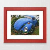 Nature: 1 - Volkswagen B… Framed Art Print