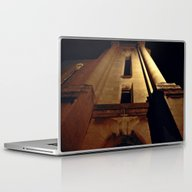 Laptop & iPad Skin featuring Street Light Glow by Dorothy Pinder