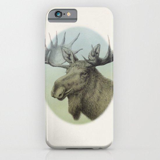 Moose head elk iPhone & iPod Case