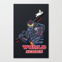 THE world series Canvas Print