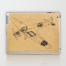Airplane diagram Laptop & iPad Skin