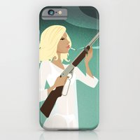 iPhone & iPod Case featuring Betty's BB Gun by Hand Drawn Creative