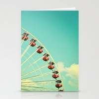 Summer At Navy Pier Stationery Cards