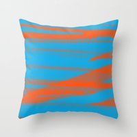 Digital Died/California Throw Pillow