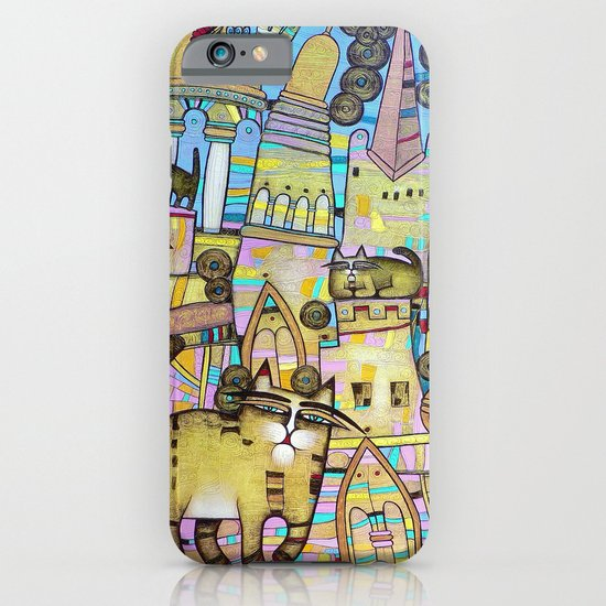 THE CITY OF 100 CATS iPhone & iPod Case