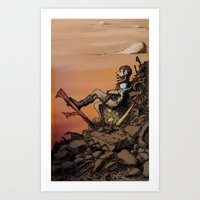 WASTELANDER Art Print