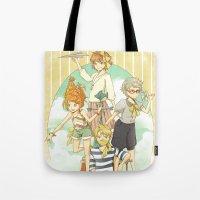 The Mermaid Club Tote Bag