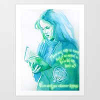 Brightest Witch Of Her A… Art Print
