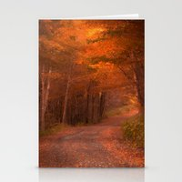 Autumns Passage Stationery Cards